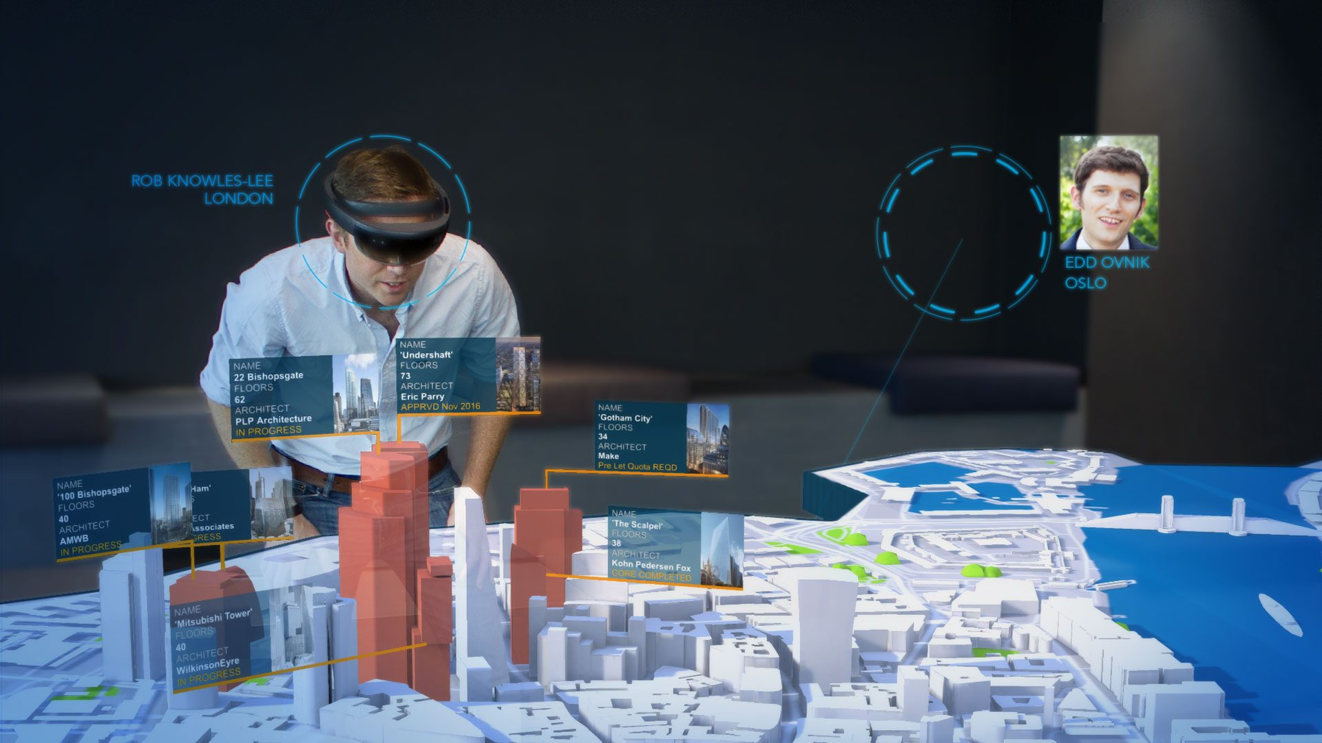 london data viz hololens